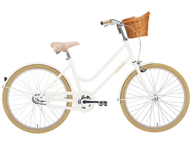 Creme Mini Molly 24 kinderfiets Kinderen 2-speed automatix wit